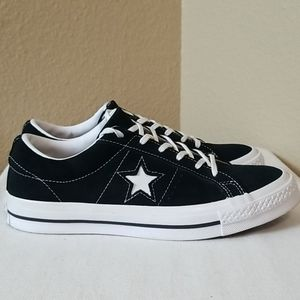 Converse Black One Star Pro Leather Sneaker